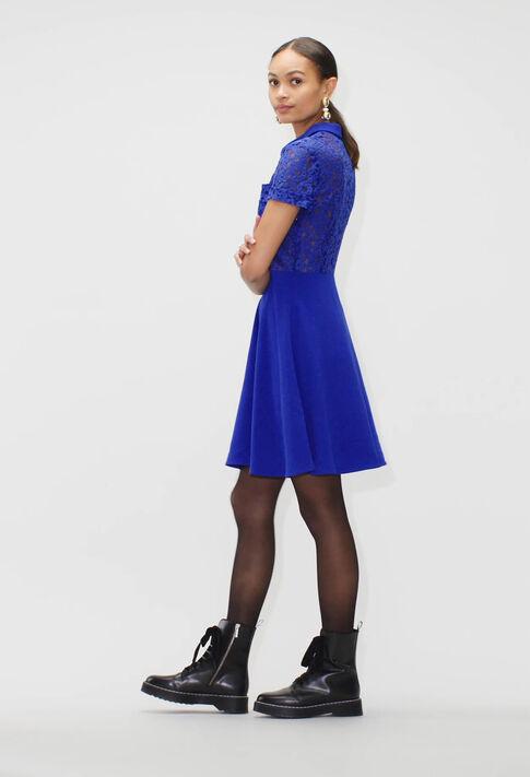 RAEH19 : Kleider farbe BLEU ROI