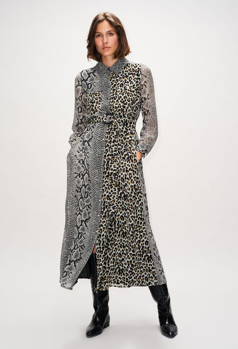 RIGOLEH19 : Kleider farbe PRINT