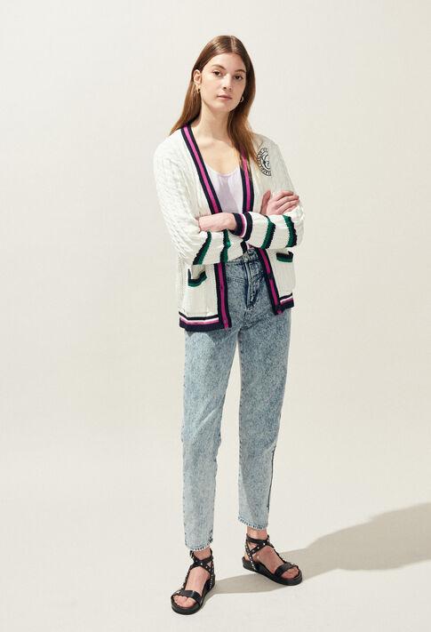 MYBLUE : Strick & Sweatshirts farbe Ecru