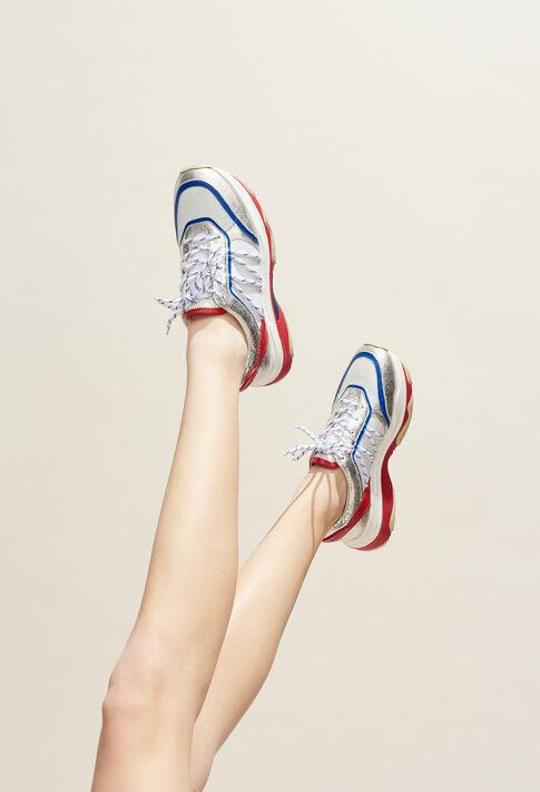 ADATIS : Schuhe farbe Argent