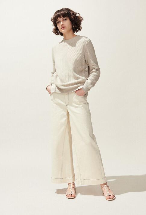MABOUCLE : Strick & Sweatshirts farbe Naturel