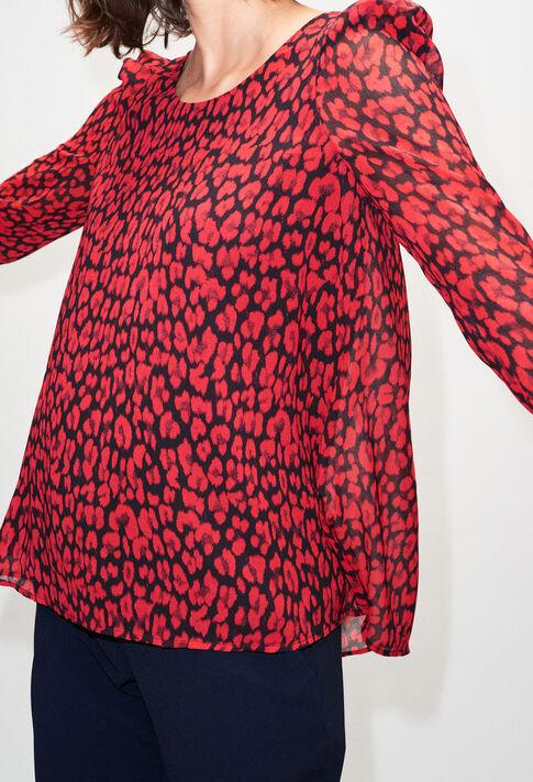 BANCLEOPARDH19 : Oberteile & Hemden farbe CERISE