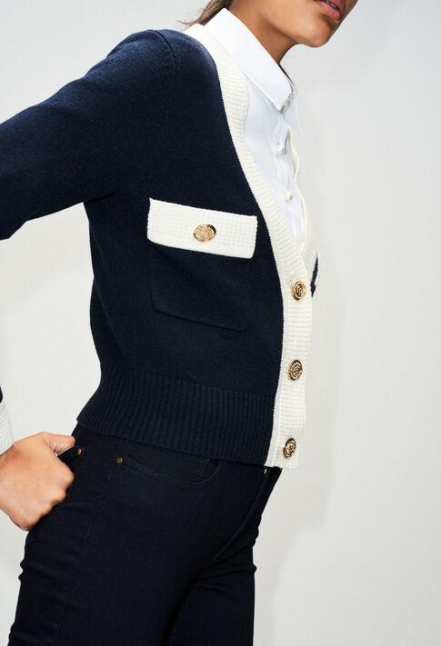 MINIH19 : Strick & Sweatshirts farbe MARINE
