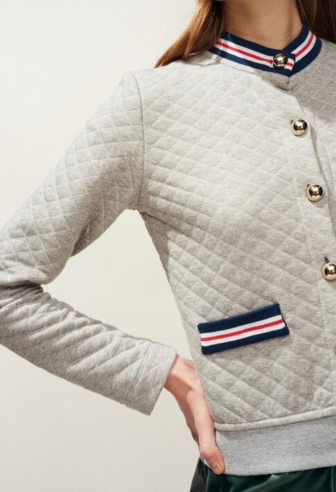 TREMPOLINE : Strick & Sweatshirts farbe Gris Chine