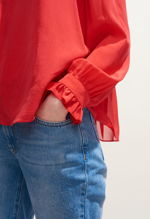 BRETZEL : Tops et Chemises couleur Ecarlate