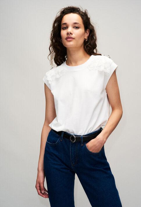TISHAH19 : T-Shirts farbe ECRU