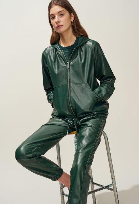 CHRISTEN : Coats & Jackets farbe VERT IMPERIAL