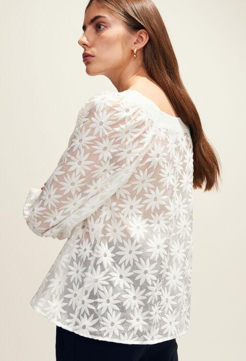 BANDOLEO : Tops et Chemises couleur Blanc