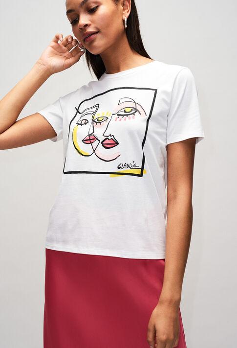 TRICHEUSEH19 : T-Shirts couleur ECRU