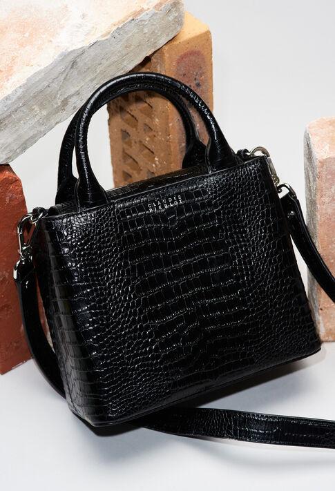 ANOUCKSMALLREPTILECROCOH19 : Taschen und Lederwaren farbe NOIR