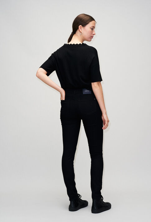 POWERH19 : Hosen & Jeans farbe NOIR