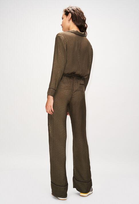 POLIDORH19 : Hosen & Jeans farbe KAKI ARMY