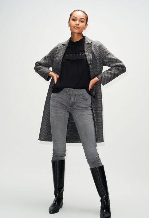PASSIONH19 : Hosen & Jeans farbe GRIS MELANGE