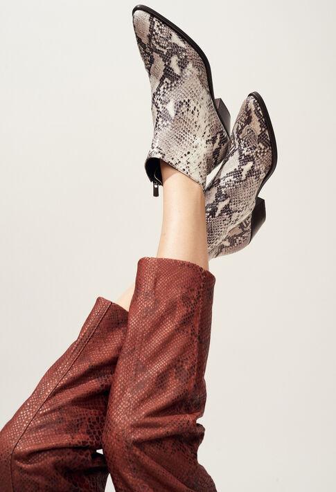 ARABICA SNAKE : Schuhe farbe Beige