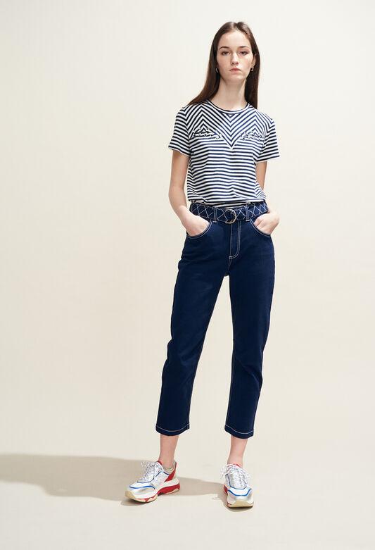 PISTOU BIS : Hosen & Jeans farbe OUTRE MER