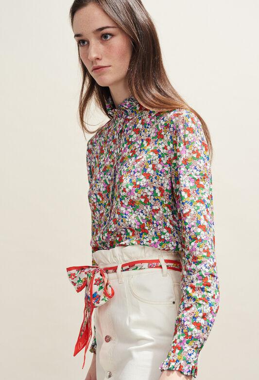 COLOMBINE FLEURETTES : Oberteile & Hemden farbe MULTICO