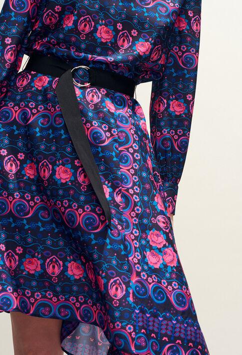 RAJAH : Robes couleur MULTICO
