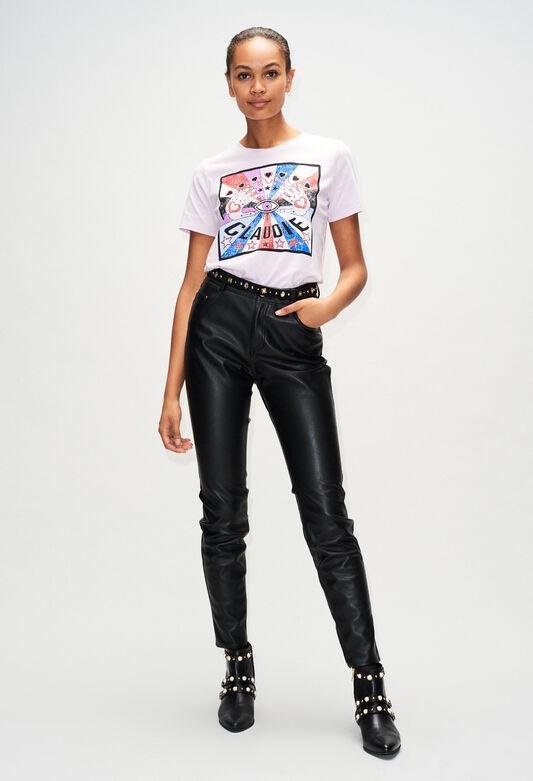 TOSHINEH19 : T-Shirts farbe LILAS