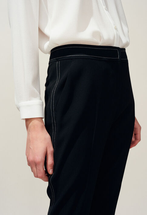 POUSSINA : Hosen & Jeans farbe Noir
