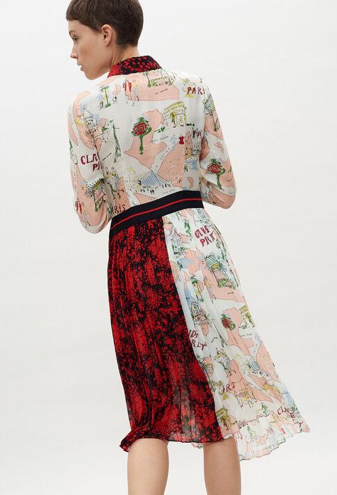 RIVAGEE20 : Kleider farbe PRINT