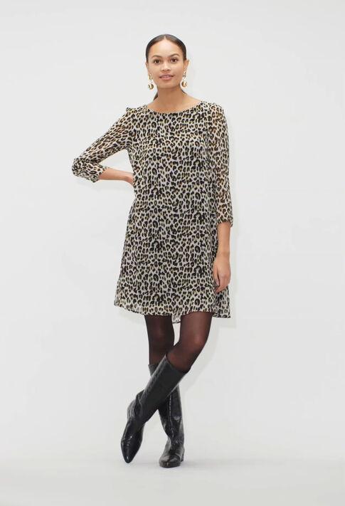 RIFIFILEOPARDH19 : Kleider farbe PRINT