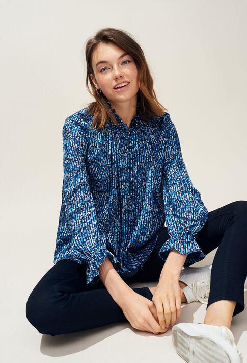 BAMILYA : Tops & chemises couleur Bleuet