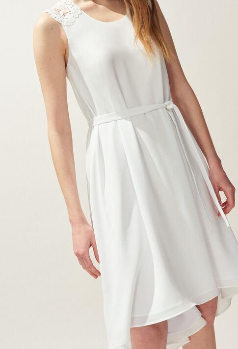 RHEA : Kleider farbe Ecru