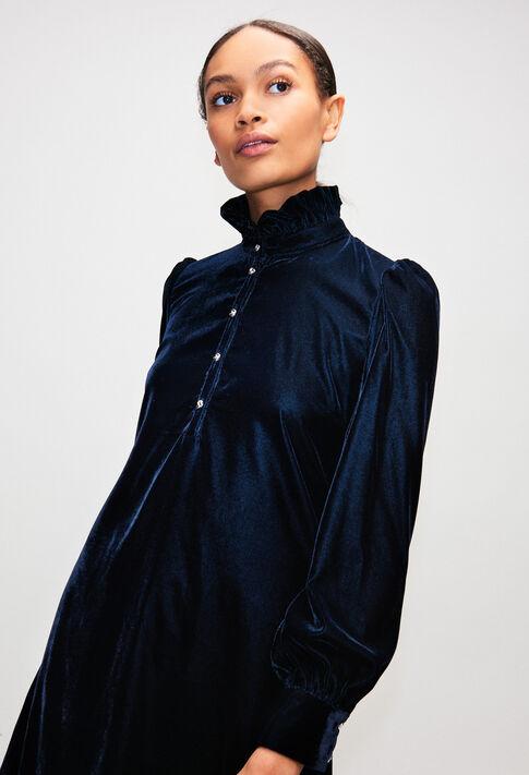 RODEZH19 : Kleider farbe MARINE