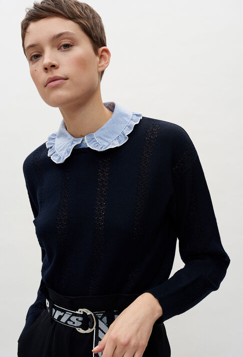 MIGNONE20 : Strick & Sweatshirts farbe MARINE