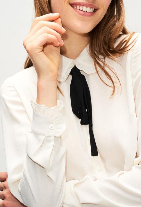 CATEH19 : Oberteile & Hemden farbe ECRU