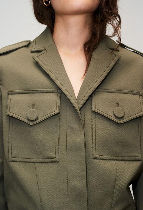 VAHNIH19 : Jacken farbe KAKI