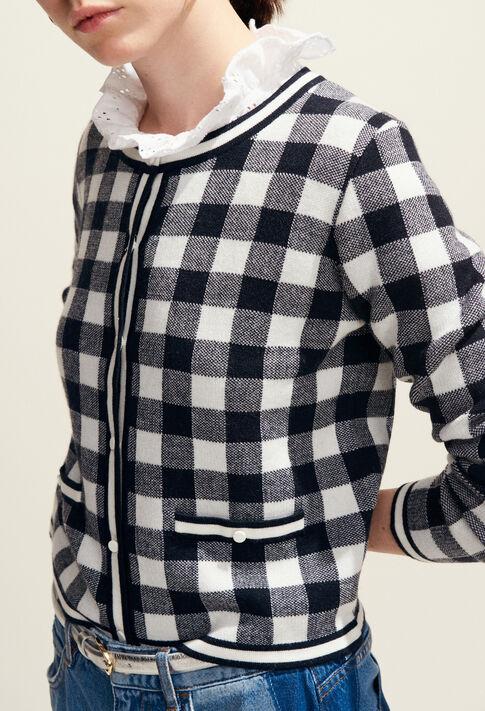 MAXYVICHY : Strick & Sweatshirts farbe Multico