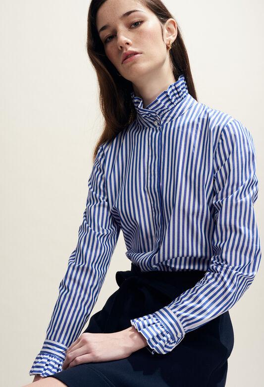 COLOMBE RAYEE : Oberteile & Hemden farbe INDIGO