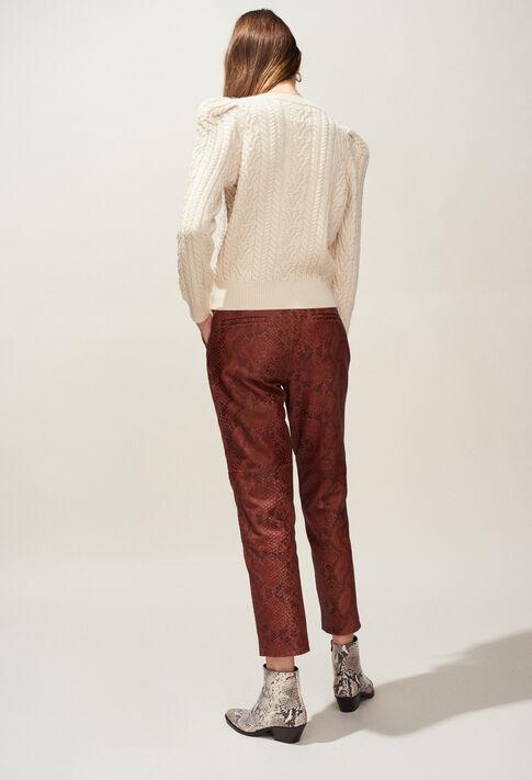 MONTESQUIEU : Strick & Sweatshirts farbe Ivoire
