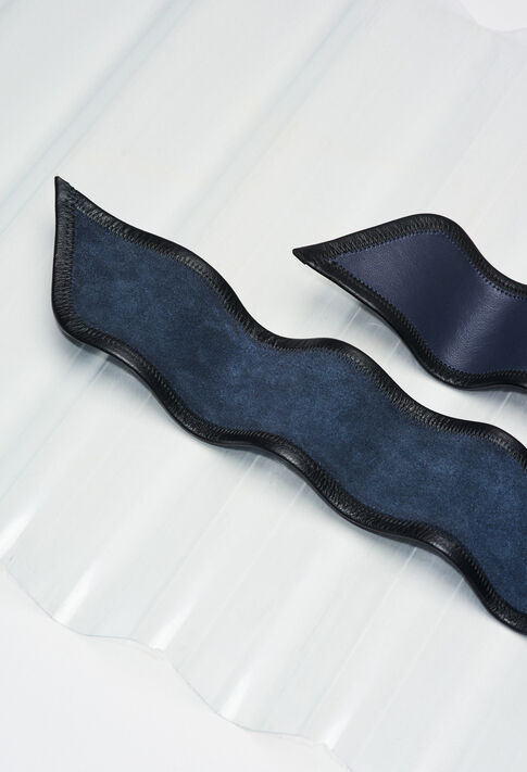 ANOUERH19 : Gürtel farbe MARINE