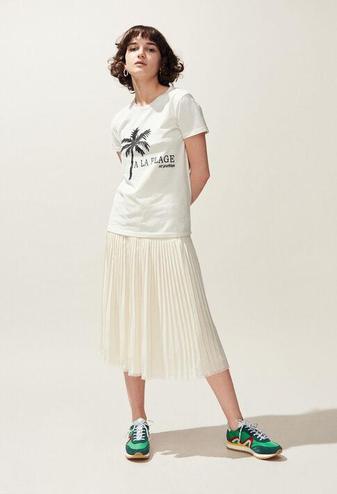 TOCHILL : T-Shirts farbe Ecru