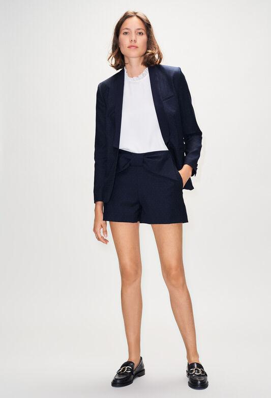 EDMONDPOISH19 : Jupes et Shorts couleur MARINE