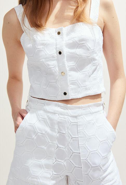 BALBOA : Tops & chemises couleur ECRU