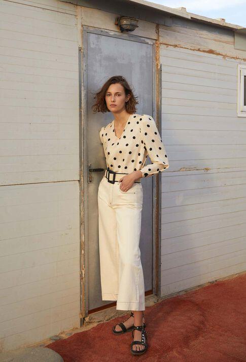 PANACOTTA : Hosen & Jeans farbe IVOIRE