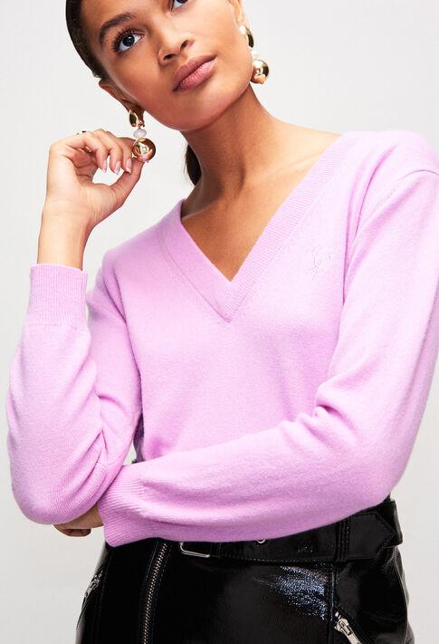 MYPINKH19 : Strick & Sweatshirts farbe LILAS