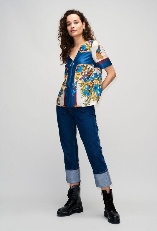 BINDOH19 : Oberteile & Hemden farbe K001