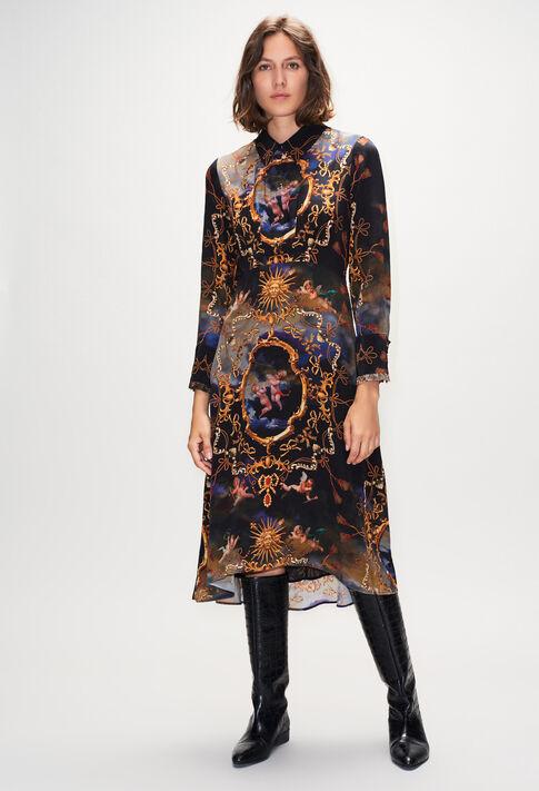 RICHESSEH19 : Kleider farbe PRINT