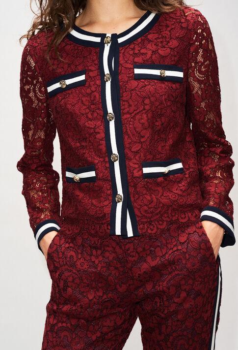 VIRGINIEH19 : Jacken farbe VELVET