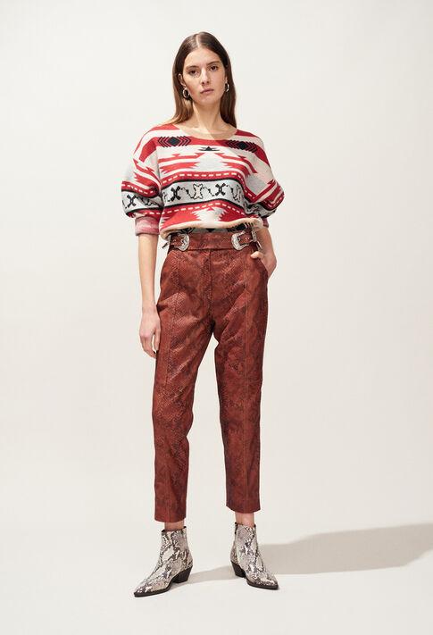 CRANBERRY : Hosen & Jeans farbe PYTHON