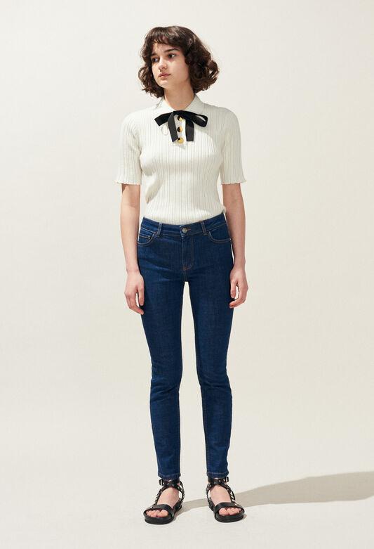 PATRICIA BIS : Hosen & Jeans farbe JEAN