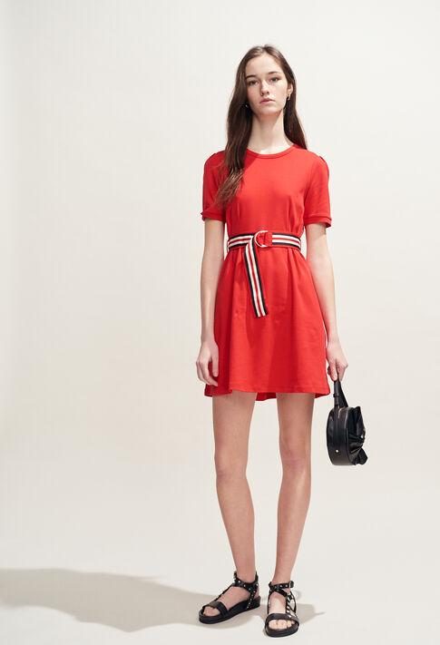 TIMINI : Kleider farbe Ecarlate