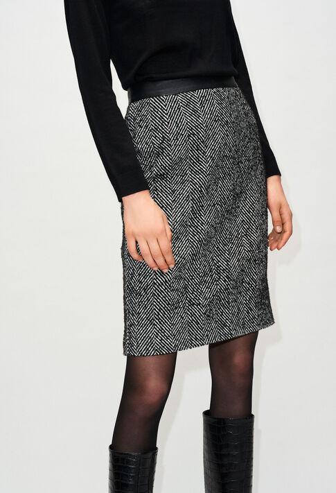 SAPONEH19 : Röcke & Shorts farbe BICOLORE