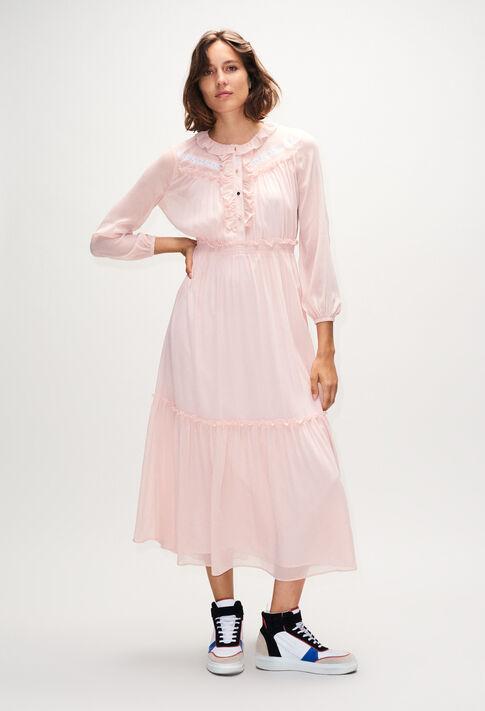 ROMUSH19 : Kleider farbe NUDE