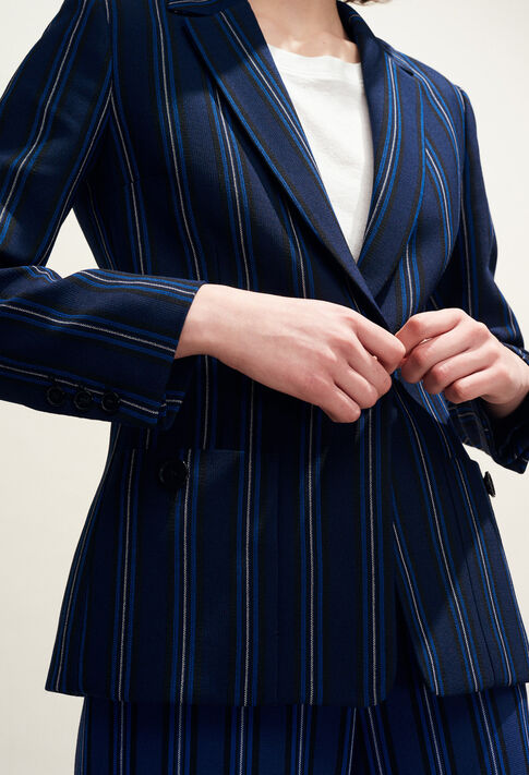 VAHINE : Jacken farbe Indigo