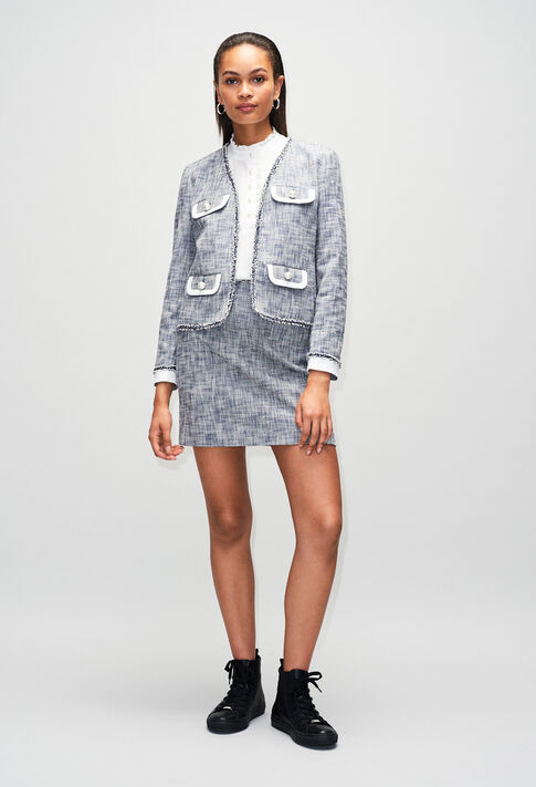 SEMILIAH19 : Röcke & Shorts farbe CHAMBRAY FONCE - SHIRTING